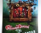 Alexander Jansson 2016 Art Calendar
