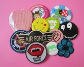Patch / Badge set of 12 (supplies on sale)