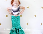mermaid party mermaid skirt halloween costume mermaid birthday outfit tail toddler outfit dress up baby girl green long sequin maxi skirt