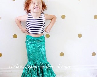 mermaid party toddler halloween costume mermaid skirt mermaid birthday outfit tail toddler outfit green aqua lavender gold sequin maxi skirt