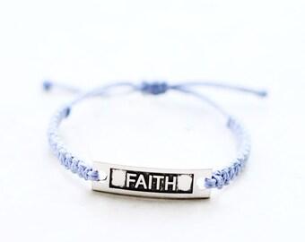 Faith Bracelet - Hemp Bracelet - Hemp Jewelry