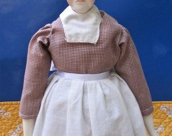 Mother Hubbard Repro China Doll