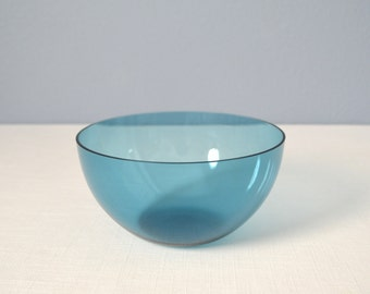Vintage Glass Bowl Attributed to Kaj Franck
