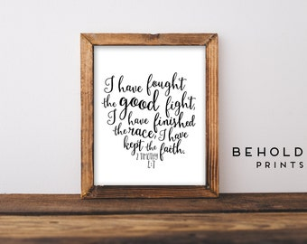 Scripture Print, Bible Verse Wall Art, Christian Wall Art, Hand Lettered Print, Calligraphy,Bible Verse Print,Scripture Wall Art,Faith Quote