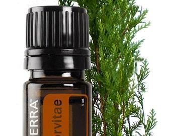 doTerra, Arborvitae (Tree of Life) , Essential Oil Blend, 5mL bottle, Essential Oils, Diffuser Oil, Therapeutic Oils, Fresh