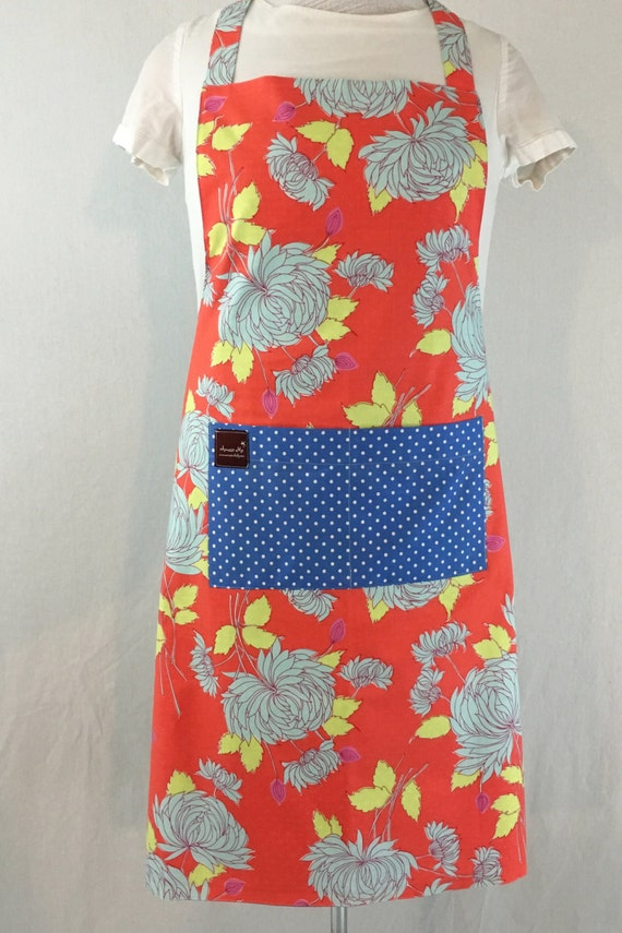 Home Cook Essential Apron - Cooking Item - Floral Apron - Reversible Apron - Matching Aprons - Mom and Me Aprons - Washable Apron