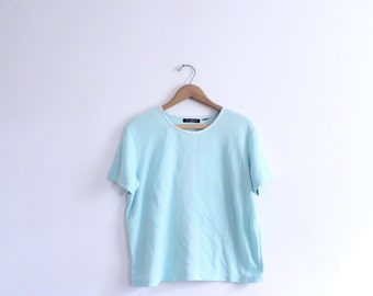Fresh Mint Basic 90s Tee