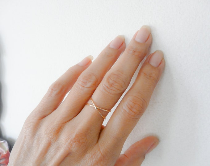 Sterling Silver//Infinity Ring//Hammered Infinity//Women Rings//Handmade Jewelry//Jewelry Gifts Under 25