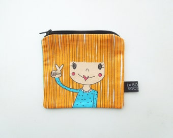 Door currency/small pouch mademoiselle
