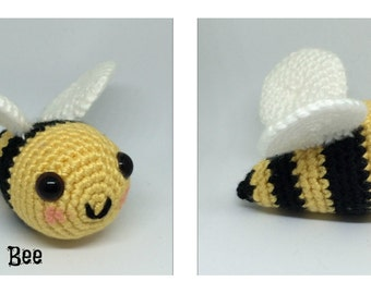 Amigurumi Bumble bee Plush Crochet Toy