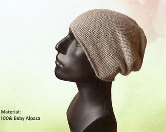 Mens Knit Hat / Mens Beanie / Beanie Hat / Urban Style / Knit Hat / Gift for him / Men Wool Hat / Slouch Hat / Beanie Men