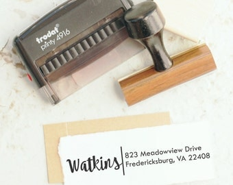 Address Stamp, Custom Stamp, Self inking  Stamp, Wedding Stamp, Custom Rubber Stamp, Return Address Stamp  10252