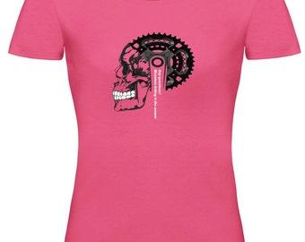 Women's Mountain Bike T Shirt - Women's Bicycle T Shirt - Women's Cycling T Shirt