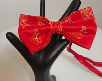 FREE  SHIPPING   Custom Silk Bow Tie