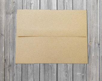 Rustic envelopes/Kraft Envelopes/ Wedding envelopes/