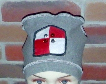 Handmade chemo (chemotherapy) hats,caps,tuques for children, boys