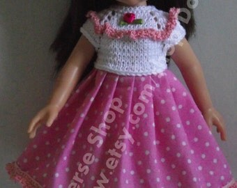 Handmade Set for Paola Reina and Corolle Les Cheries  13,14 dolls