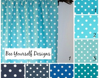 Polka dot curtains – Etsy