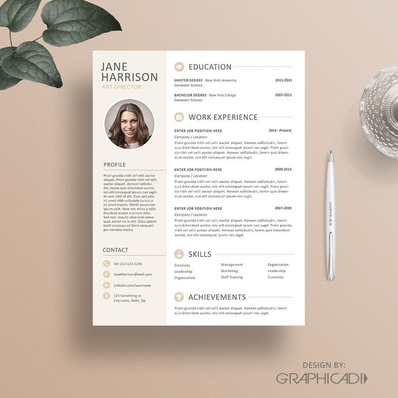 resume template cv template iwork pages resume template resume