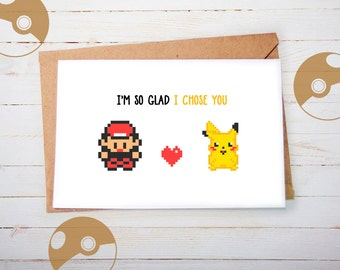 pokemon birthday  etsy, Birthday card