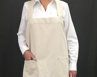 Cotton Pinafore Apron
