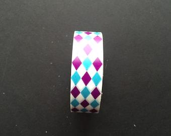 Deco multi colored washi tape