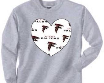 Long Sleeved Atlanta Falcons Shirt, atlanta falcons baby, atlanta falcons gift, atlanta falcons women, falcons