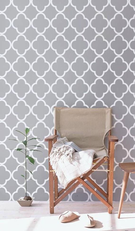 Self adhesive vinyl temporary removable wallpaper nursery for Temporary vinyl wallpaper