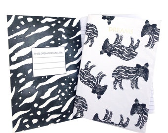 Baby Tapir Notebook and Journal