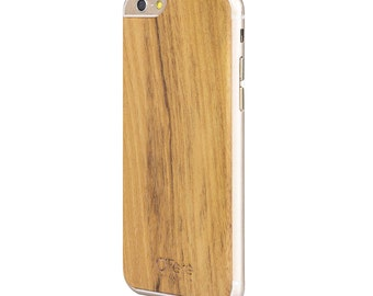 Shell wood Acacia - back to iPhone