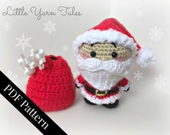 Amigurumi Santa Claus - PDF WRITTEN PATTERN