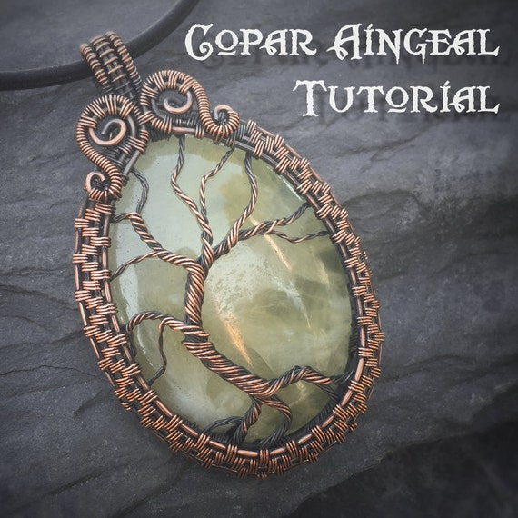 Tutorial Yggdrasil Pendant Wire Wrapping By