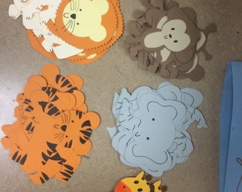 Zoo animal tags