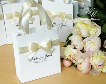 Wedding Guest Gift Bags Uk : Wedding Welcome Bags Gift Boxes Guest Book Ideas by WeddingUkraine