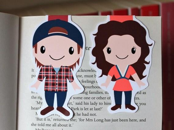 Set of Luke and Lorelai Bookmarks | Gilmore Girls