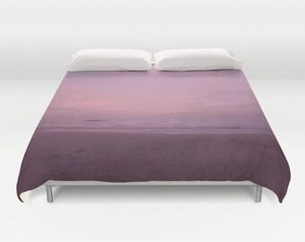 Purple Pastel Duvet Cover King, Queen, Full