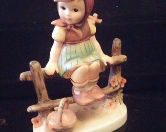 Rare collectible hummel figurines