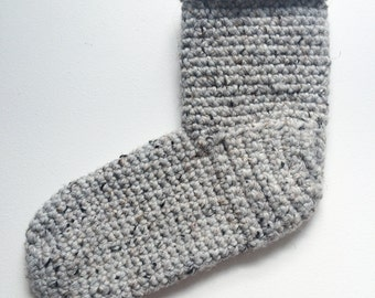 Wellcrafted Slipper Socks- Gray