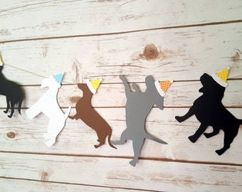 Dog Birthday Garland