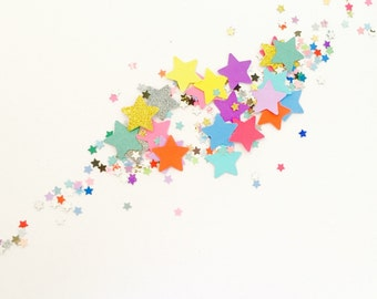 Star Confetti / first birthday, wedding, party supplies, party decor, party decorations, confetti, party, kids party, table scatters
