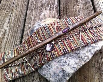 Hemlock Magic Wand with Amethyst