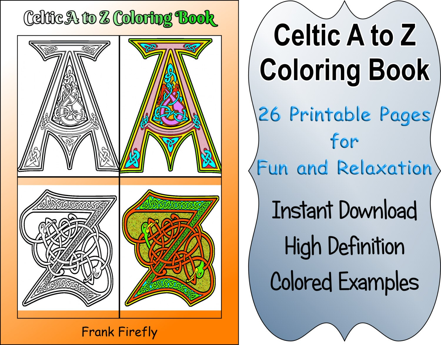 Celtic Coloring Book 26 Printable