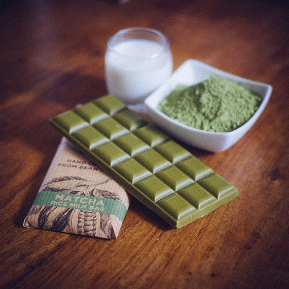 Vegan White Chocolate - Matcha Green Tea