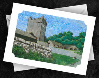 Castle Ward - 7x5 Folded Greetings Card