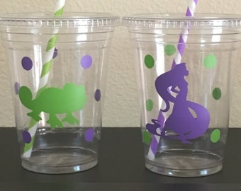 Tangled party cups, repunzle party cups