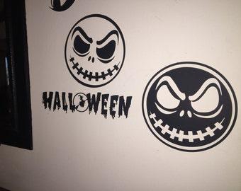12 inch wide Halloween Matboard Wall art, Pumpkin becomes 2