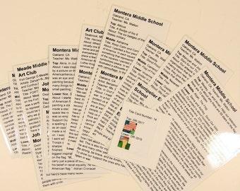 Souvenir: HARRIS Corporation (MD) Title-Cards
