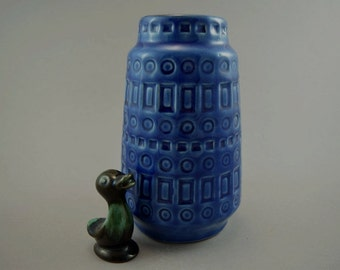 Vintage vase made by Scheurich / 260 18 / decor Inka | West German Pottery | 60s