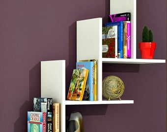 Modern five wall shelves,wall shelf,shelves,wall shelves,floating shelves,floating shelf,shelf wood
