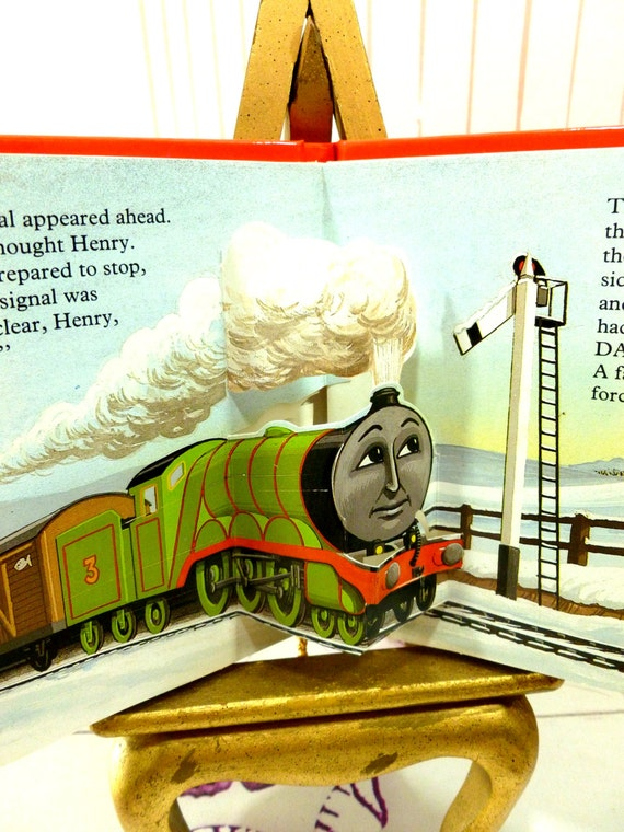 Thomas the tank engine pop up 4 book set thomas by kittystales for Cat goes fishing wiki